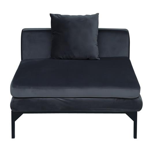 Pan Emirates Greenwich Single Seater Sofa Black