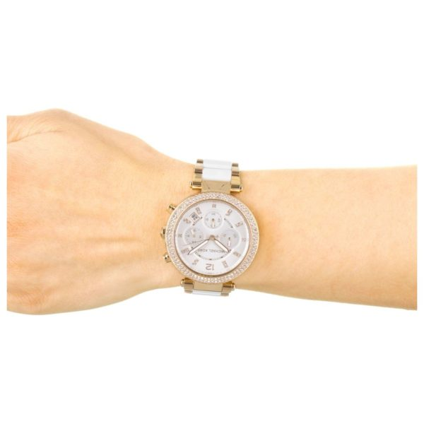 32ea937a04f1 Buy Michael Kors MK5774 Parker Chronograph Ladies Watch – Price ...