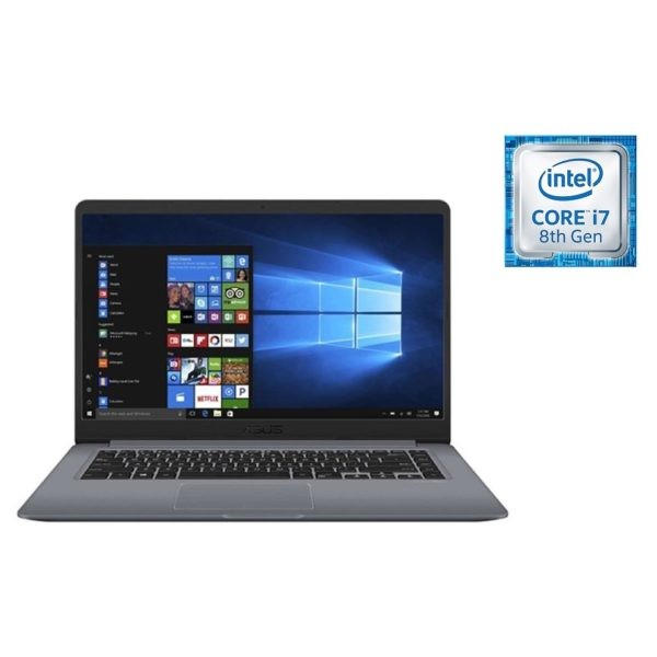 Asus VivoBook S14 Laptop - Core i7 1.8GHz 8GB 256GB Shared Win10 14inch FHD Grey