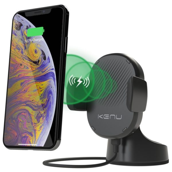 Kenu Airbase Pro Wireless Q1 Fast Charger - Black