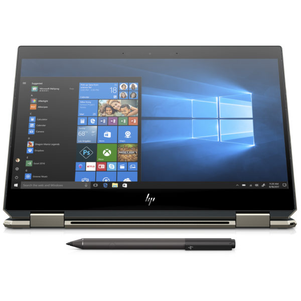 HP Spectre x360 13-AP0004NE Convertible Touch Laptop - Core i7 1.8GHz 16GB 1TB Shared Win10 13.3inch 4K Blue