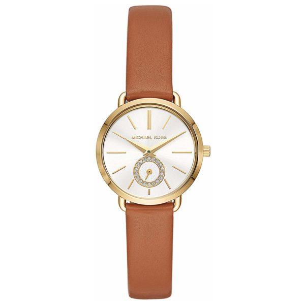 e705678988ae Buy Michael Kors MK2734 Petite Portia Silver Dial Ladies Watch ...