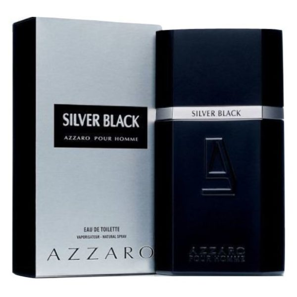 Azzaro Silver Black Perfume For Men 100ml Eau de Toilette