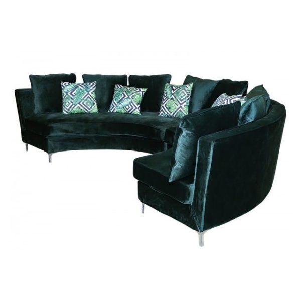 Buy Pan Emirates Costco Corner Sofa Set (Curve)