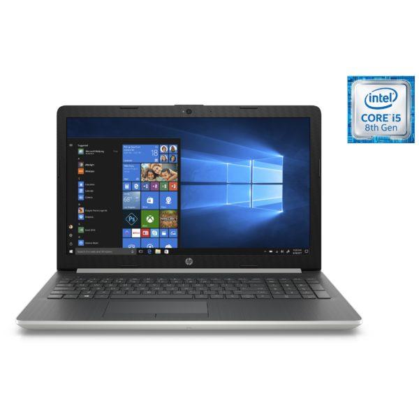 HP 15-DA1005NE Laptop - Core i5 3.9GHz 4GB 1TB 2GB Win10 15.6inch FHD Silver