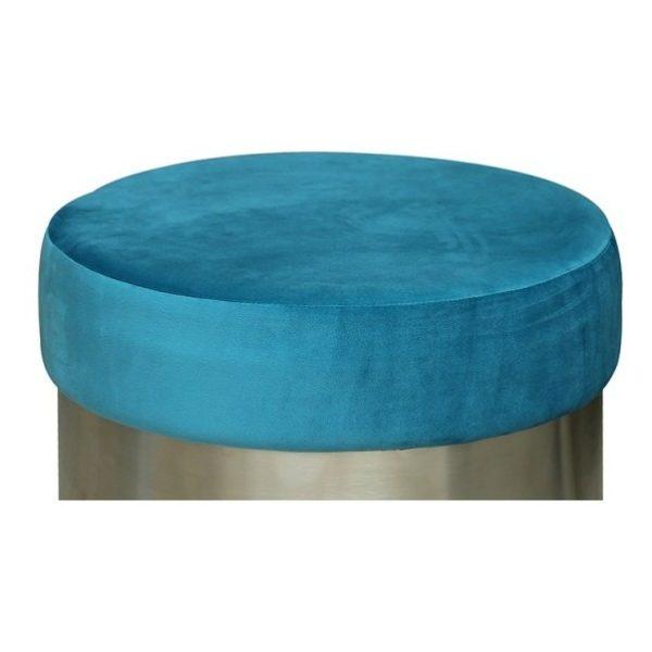 Pan Emirates Branco Ottoman Light Blue