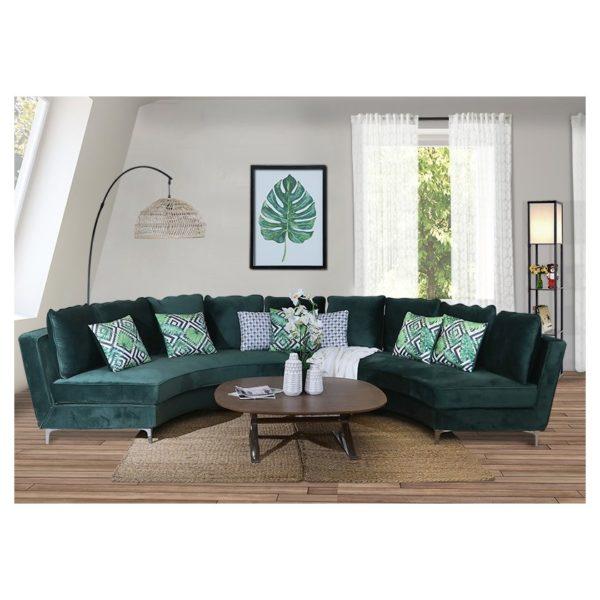 promo code 52ad9 b6f0c Buy Pan Emirates Costco Corner Sofa Set (Curve) – Price ...