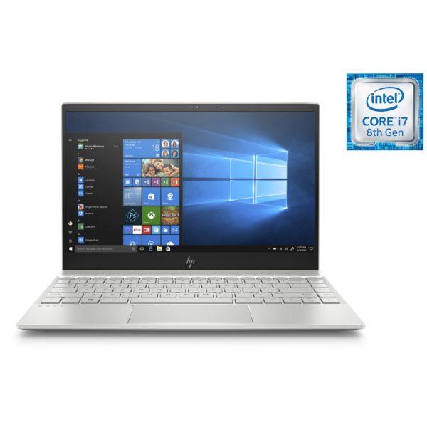 HP ENVY 13-AH1001NE Laptop - Core i7 1.8GHz 8GB 256GB Shared Win10 13.3inch FHD Silver