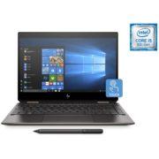 HP Spectre x360 13-AP0007NE Convertible Touch Laptop - Core i5 1.6GHz 8GB 512GB Shared Win10 13.3inch FHD Dark Ash Silver
