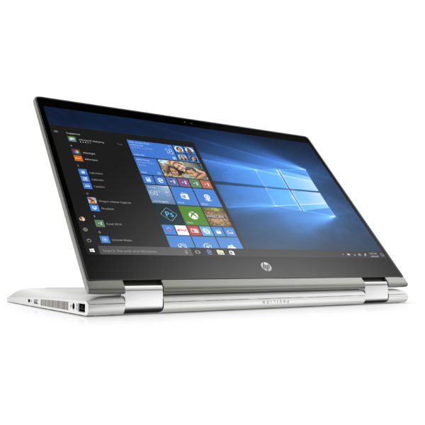 HP Pavilion x360 14-CD1007NE Convertible Touch Laptop - Core i7 1.8GHz 12GB 1TB+128GB 4GB Win10 14inch FHD Silver