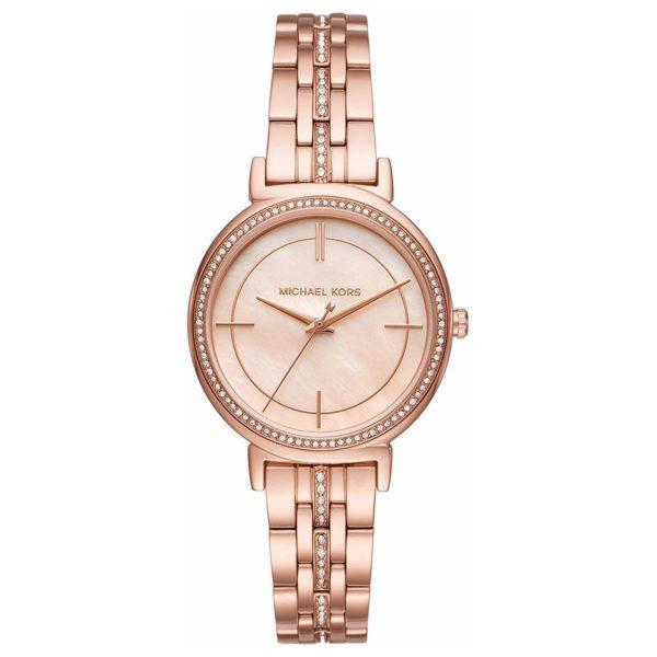Michael Kors MK3643 Cinthia Mother of Pearl Dial Ladies Watch