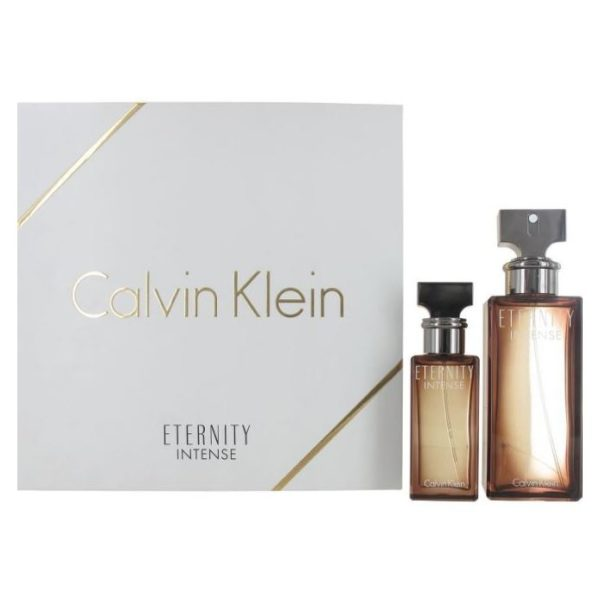 Calvin Klein Eternity Intense Gift Set For Women (Calvin Klein 100ml EDP + Calvin Klein 30ml EDP)