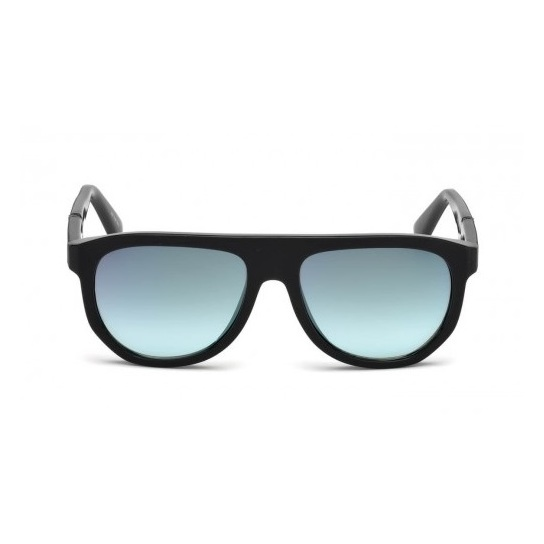 Diesel DL025-505Q-56 Black Men's Sunglass