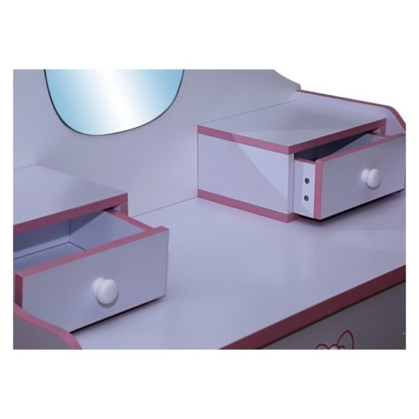 Pan Emirates Buttercup Kids Dresser With Mirror