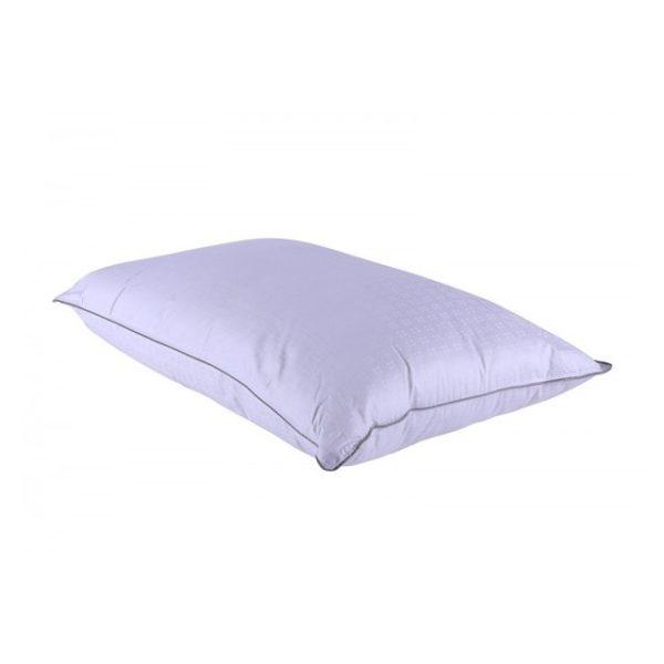 Antibacterial Dobby Pillow 300Tc White