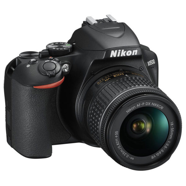 Nikon D3500 DSLR Camera Black + AF-P 18-55mm VR Lens + AF-P 70-300mm + 16GB Memory Card
