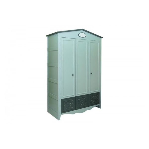 Pan Emirates Hamley 3 Door Kids Wardrobe