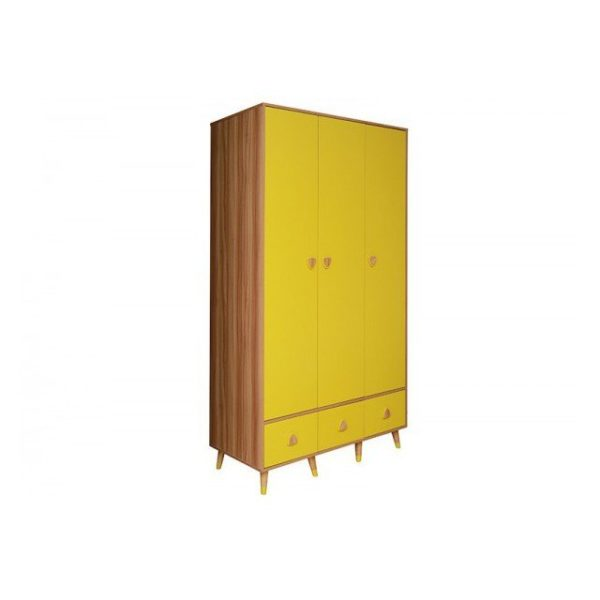 Pan Emirates Montclaire 3 Door Kids Wardrobe