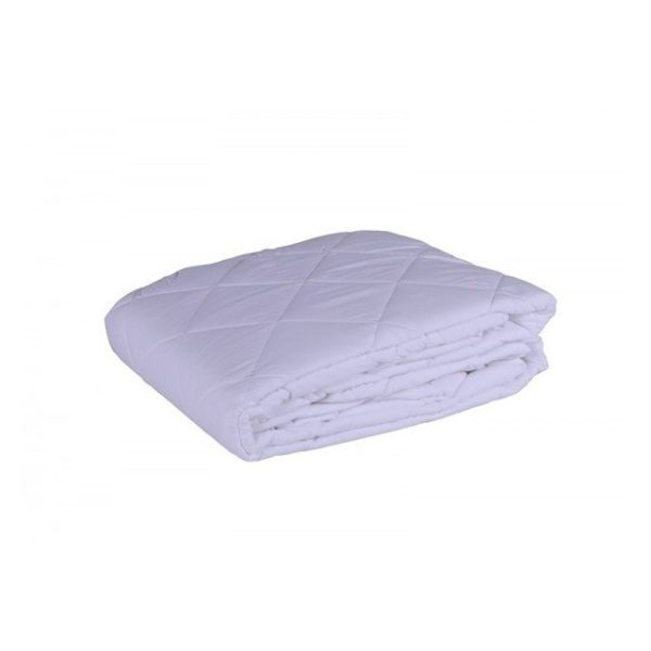 Antibacterial Mattress Protector 120X200cm White