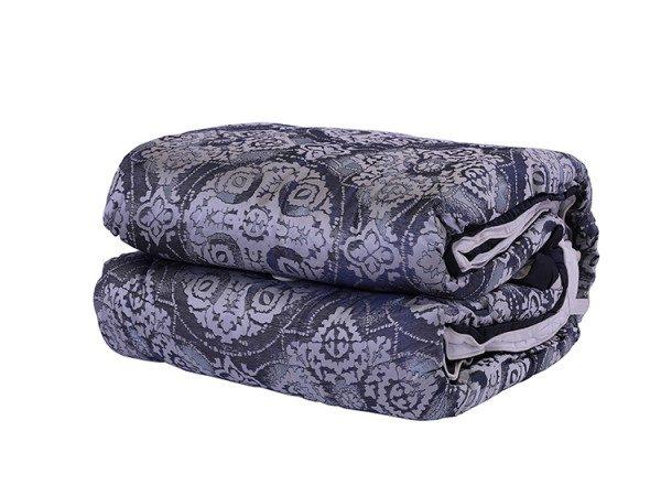 Caleb Comforter Set 5pcs 260x260cm Blue