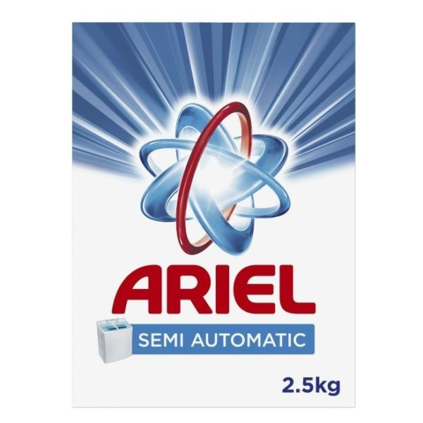 Ariel Semi-Automatic Detergent Powder 2.5kg