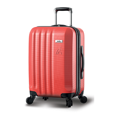 404a520d4 Traveller 28inch ABS 4 Wheel Trolley Hard Case With PU Lining Red/Black