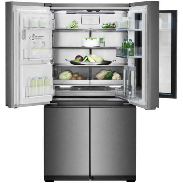 LG SIGNATURE InstaView Door-in-Door Refrigerator 930 Litres. Auto Open Door with Water Dispenser GRX33FGNGL