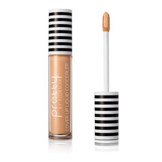 Pretty By Flormar Cover Up Liquid Concealer Ivory 002
