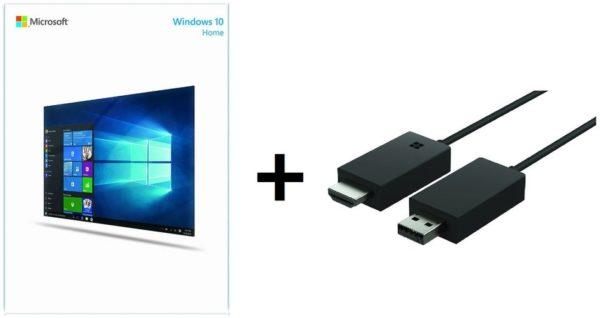 Buy Microsoft KW900018 Windows Home 10 Software + P3Q00005 Wireless