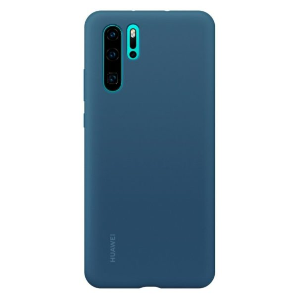 Huawei Vogue Silicone Case Blue For P30 Pro