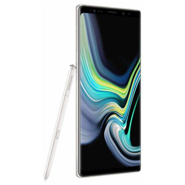 Samsung Galaxy Note9 128GB Alpine White 4G LTE Dual Sim Smartphone SM-N960F