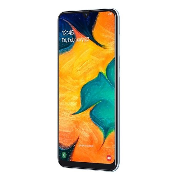 Samsung Galaxy A30 64GB White SMA305F 4G Dual Sim Smartphone
