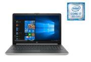 HP 15-DA1007NE Laptop - Core i7 1.8GHz 8GB 1TB 4GB Win10 15.6inch FHD Natural Silver