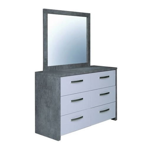 Pan Emirates Angle N Dressing Table With Mirror