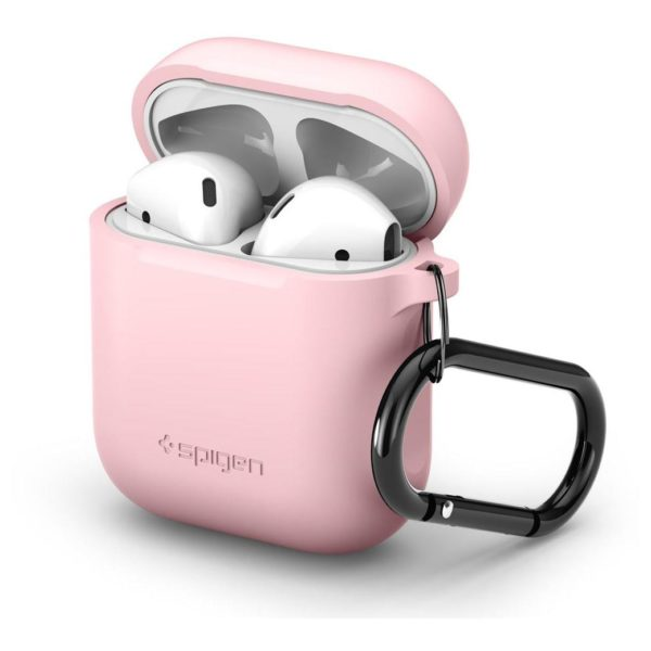 on sale c7a50 a0e6f Spigen Silicone Case Designed For Apple Airpods – Pink