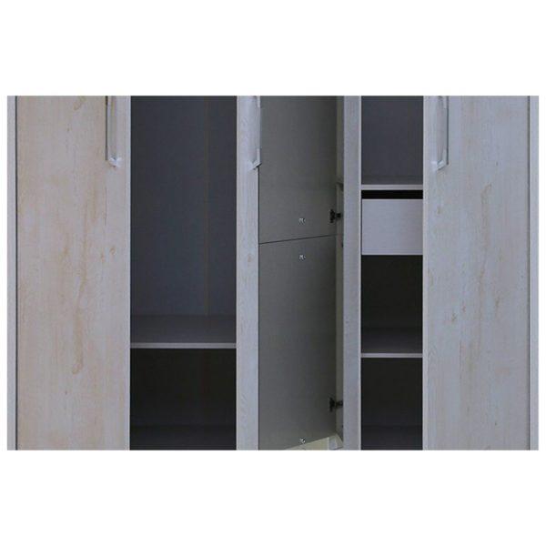Pan Emirates Athenas 3 Door Kids Wardrobe With Mirror