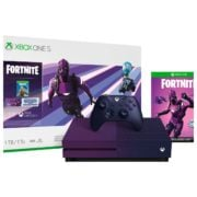 Microsoft Xbox One S 1 TB Gaming Console With Fortnite Game Limited Edition Bundle