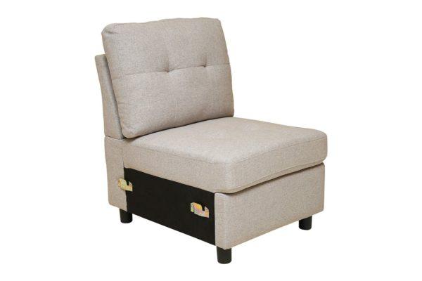 Pan Emirates Moller Arm Less Single Seater Sofa