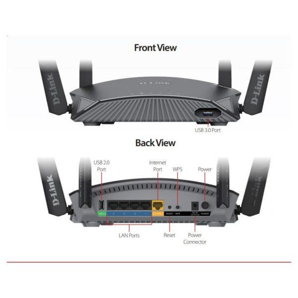 Dlink DIR-2660 AC2600 Super Mesh Smart WiFi Router