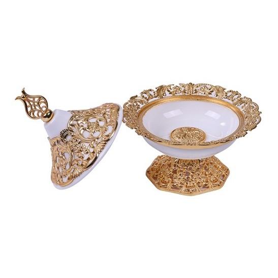 Pan Emirates Estella Dry Fruit Pot S 16X16X17cm Gold
