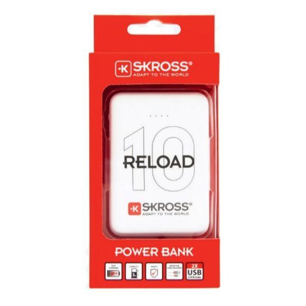 wholesale dealer 81cd2 e3b96 Skross Reload 10 Compact & Sleek Power Bank 10000mAh 2Pcs Bundle