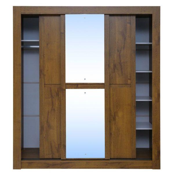 Pan Emirates Boomerang 3 Door Kids Wardrobe With Mirror