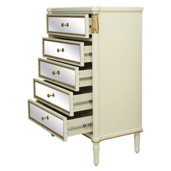 Pan Emirates Italian Collection Chest Of 5 Drawer