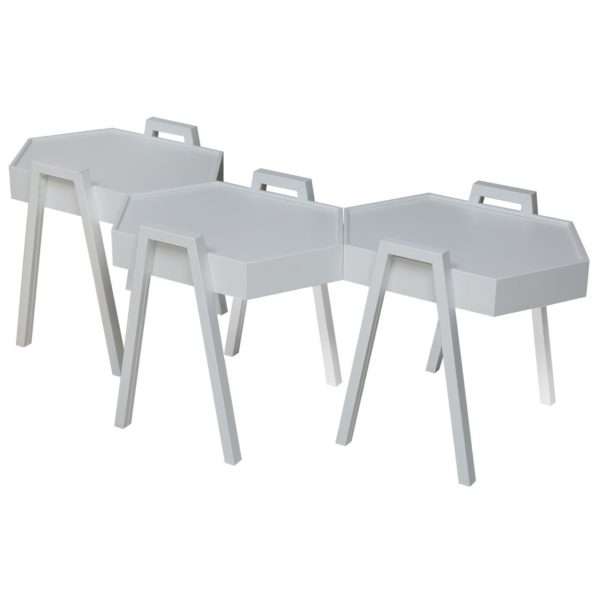 Pan Emirates Cady Nesting Table 3 Pc Set