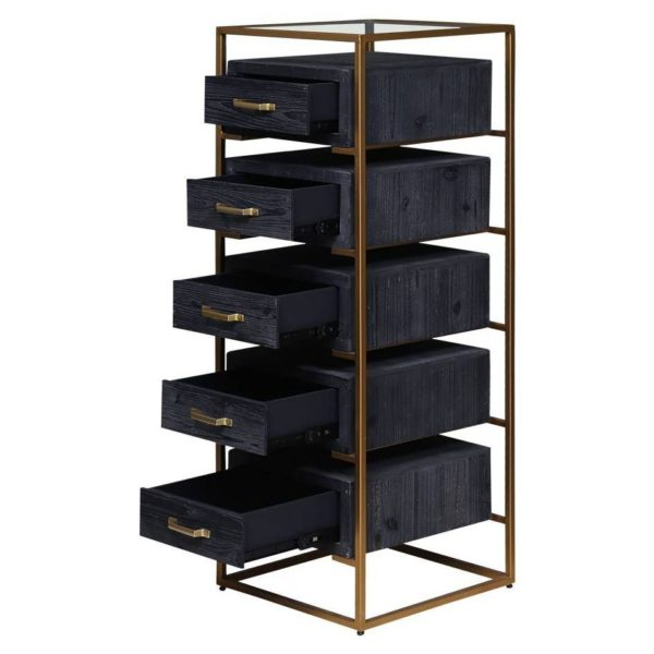 Pan Emirates Alistair Chest Of 5 Drawer