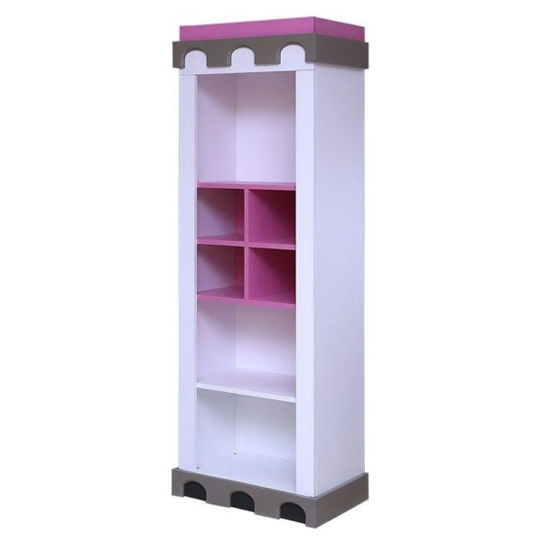 Pan Emirates Castle Kids Bookcase And Toybox