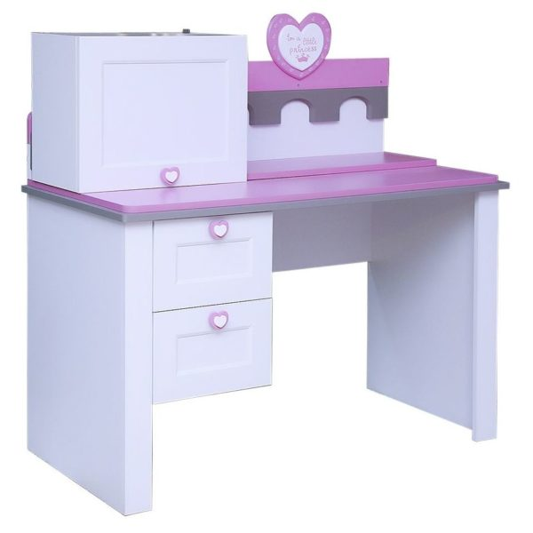 Pan Emirates Castle Kids Study Desk With Hutch