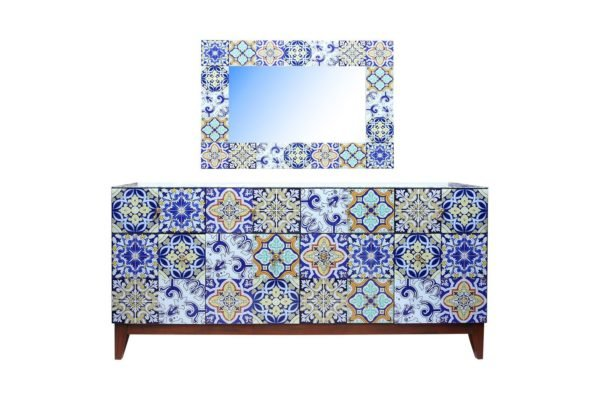 Pan Emirates Wolks Sideboard With Mirror