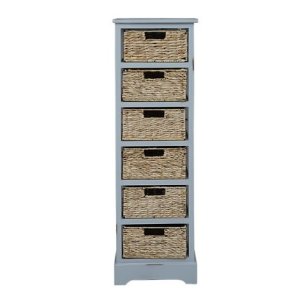 Pan Emirates Visalia Chest Of 6 Drawer