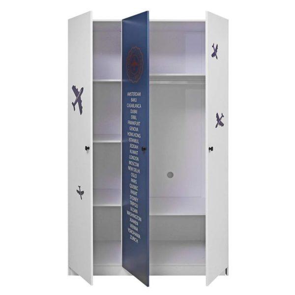 Pan Emirates Santano 3 Door Wardrobe